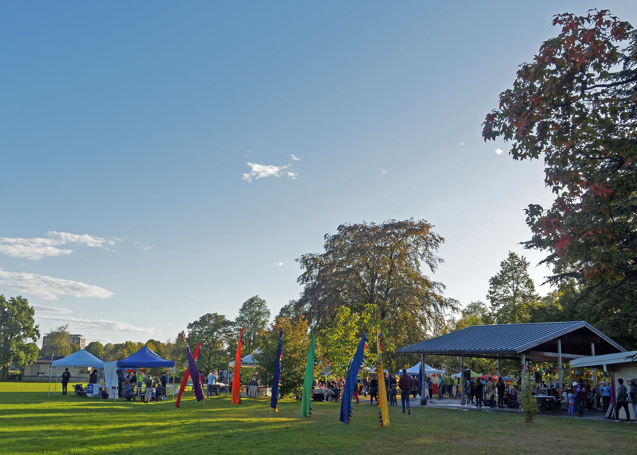 Harvest Fair at Slocan Park - Photo by Chao Cheng (2016)