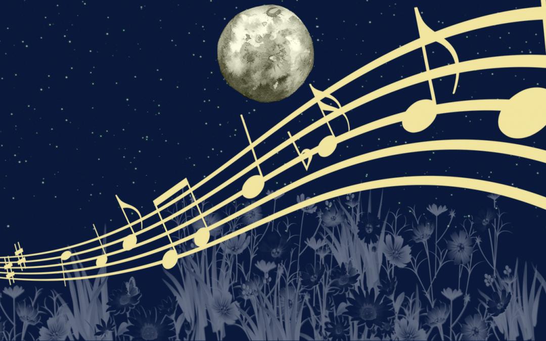 Moon Music at the Dye Garden