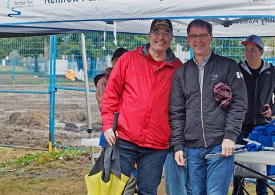 Adrian Dix at Harvest Fair - Photo by Chao Cheng
