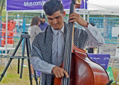 Kurdish Community Music Band - Photo by Chao Cheng