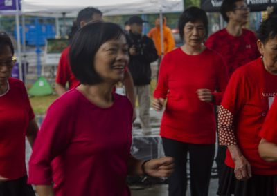 Renfrew Chinese Senior Dancers - Photo by Mandy Huynh