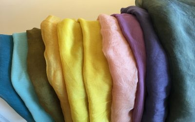 Colour Me Local Natural Dye Workshop: Make Your Own Silk Scarf!