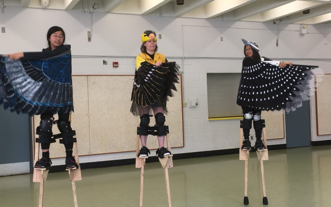 Beginner/Intermediate Stilt Workshops