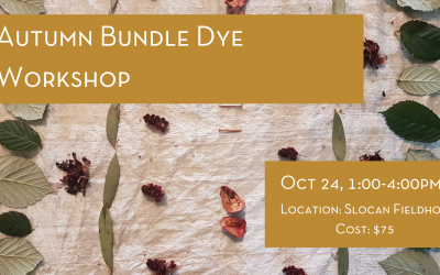 Autumn Bundle Dye Workshop