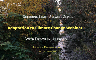 Adaptation to Climate Change Webinar with Deborah Harford