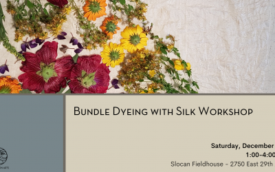 Bundle Dyeing with Silk Workshop