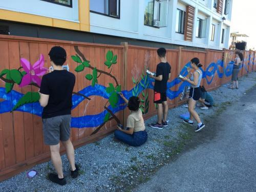 We All Belong Mural